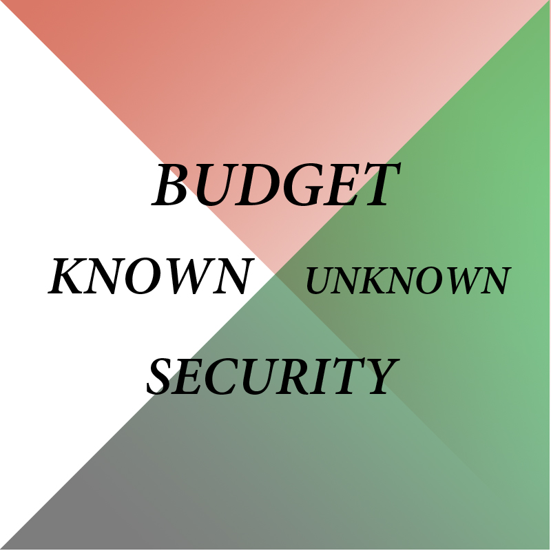 KNOWNUNKNOWNBUDGETSECURITY